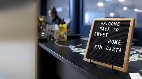 Jump Point at Kin and Carta office