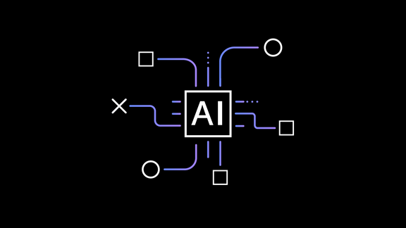 Abstract illustration of Artificial Intelligence
