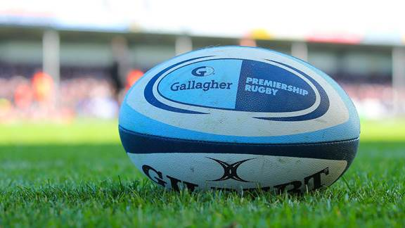 Image of AJ Gallagher rugby ball
