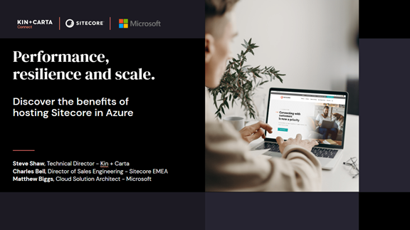 Benefits of Azure webinar title screen