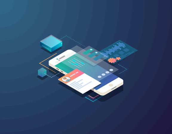 mobile development infographic