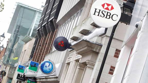 High street bank branches