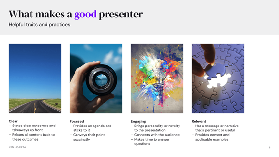 Good presenter slideshare