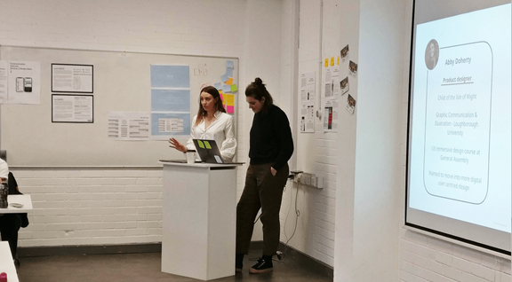 Two Kin + Carta designers teaching at Northumbria University