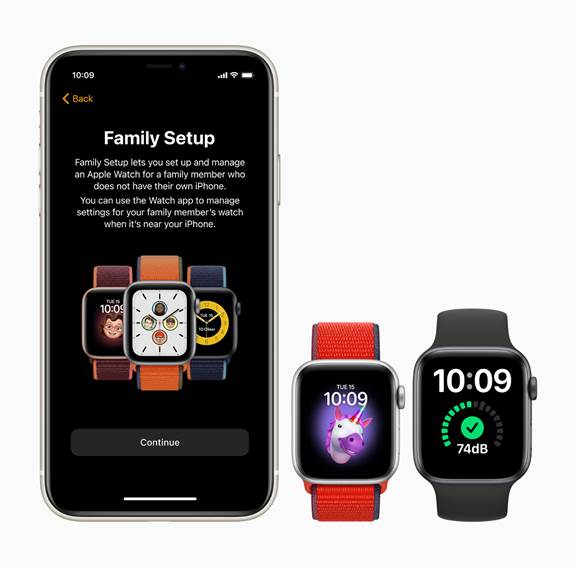 Apples new family watch set up
