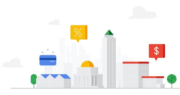 Google financial services infographic