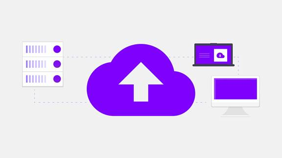 Illustration of cloud technology