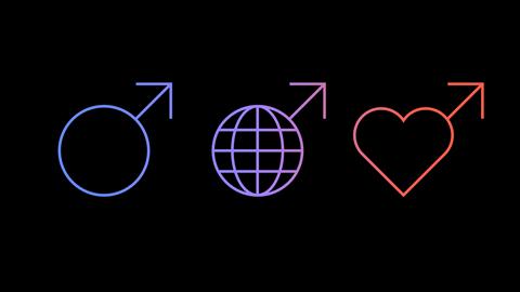 International Mens Day Icons