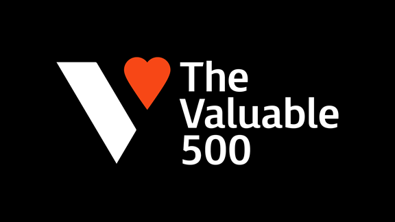 The Valuable 500 logo