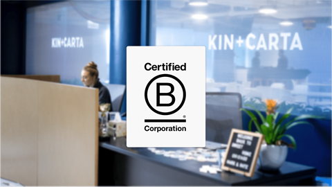 B-Corp Announcement Header