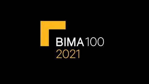 BIMA100 logo 2021