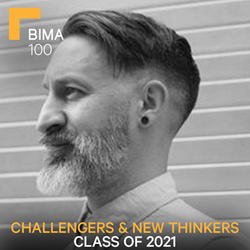 Kevin Mar-Molinero headshot, BIMA100 class of 2021. Challengers and new thinkers