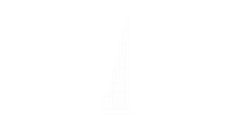 Illustration of Bacata building