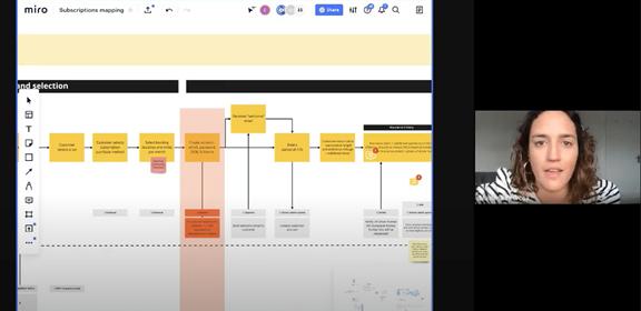 Screenshot of a workshop