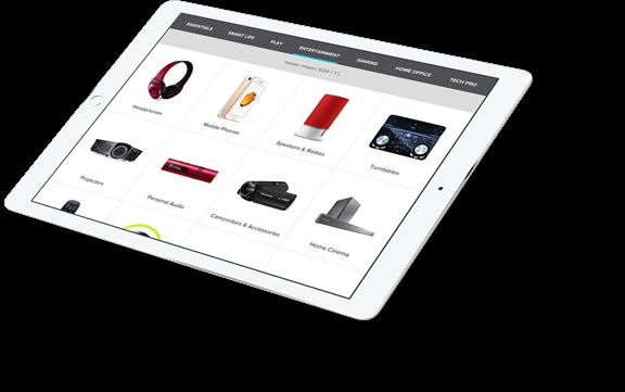 Maplin product display