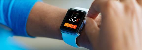 Banking apple watch